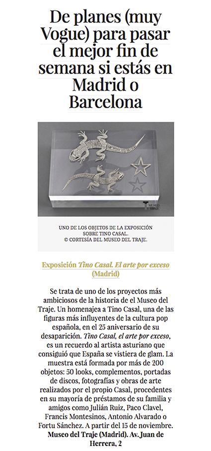 Tino Casal, el arte por exceso – Vogue